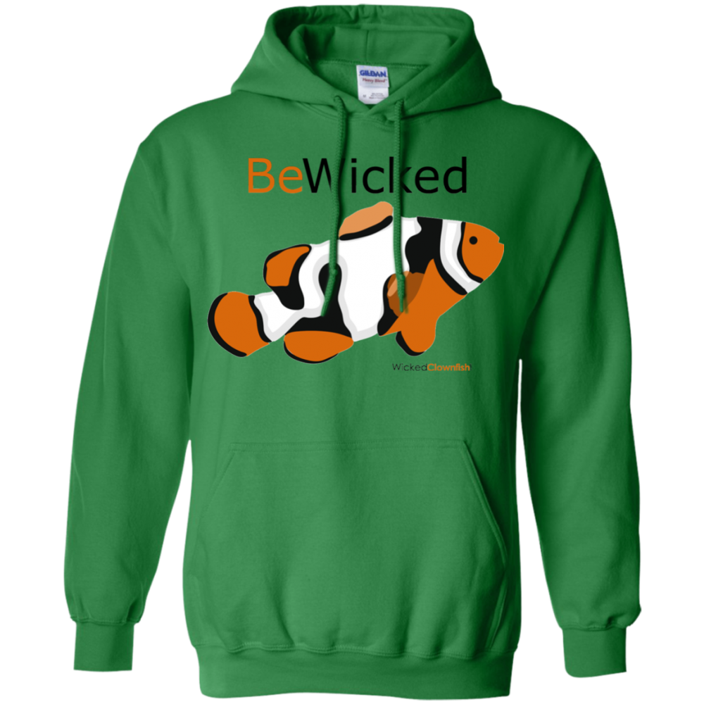Be Wicked Hoodie - color: Irish green