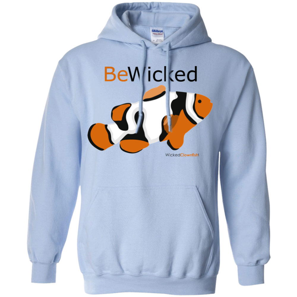 Be Wicked Hoodie - color: light blue