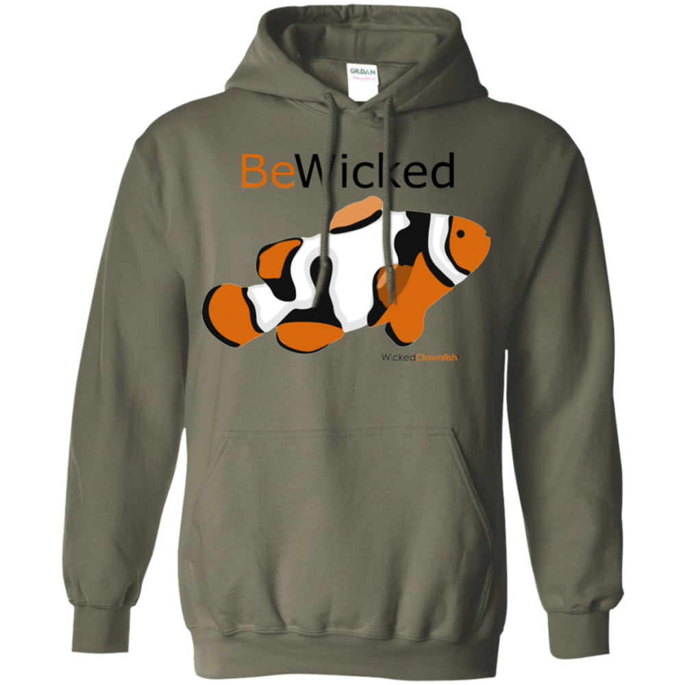 Be Wicked Hoodie - color: military green
