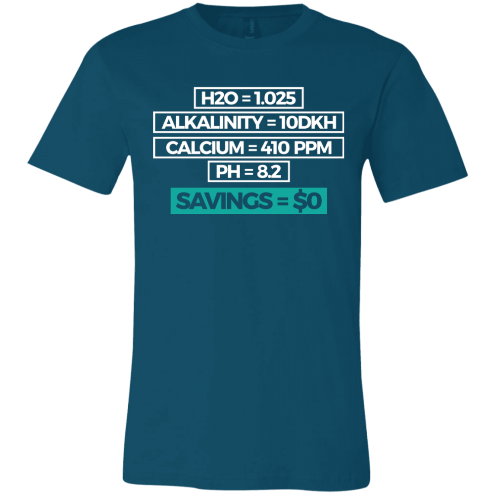 Savings T-Shirt - color: Deep Teal