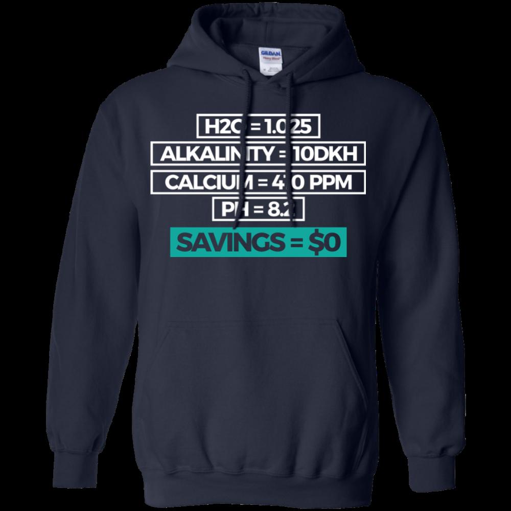 Savings Hoodie - color: Navy