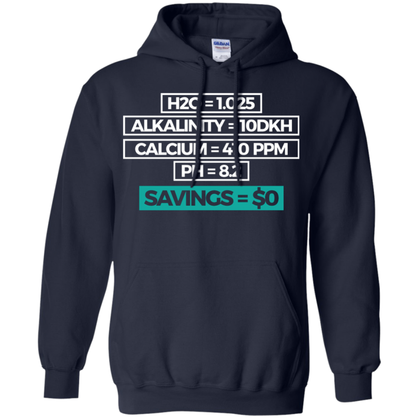Savings Hoodie - color: Navy