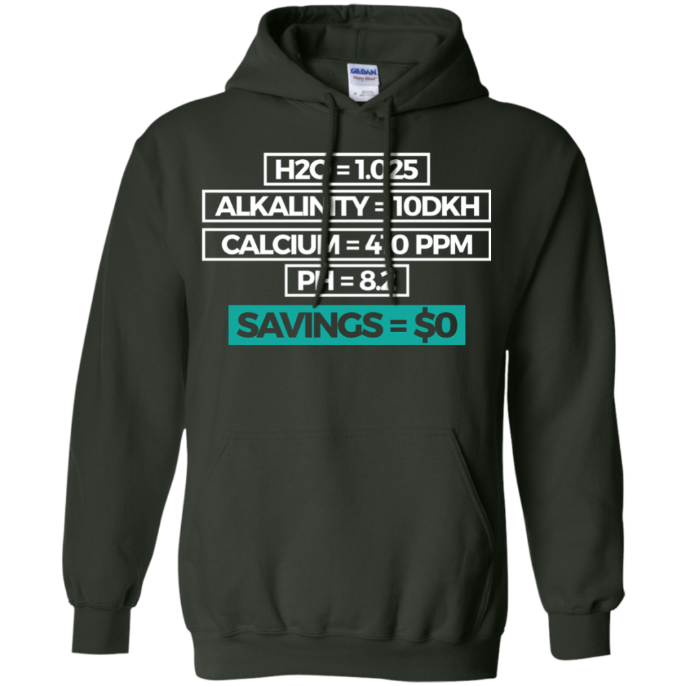 Savings Hoodie - color: Forest Green