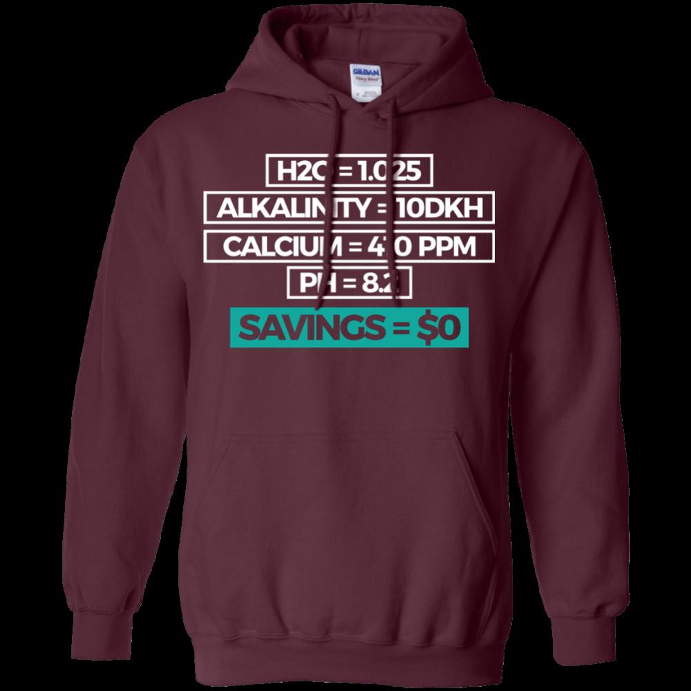 Savings Hoodie - color: Maroon