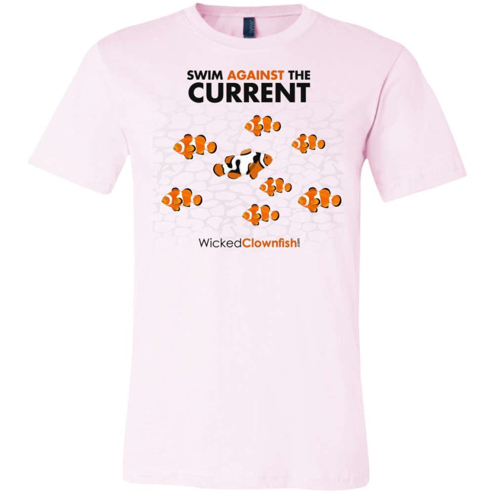 Swim Against The Current - color: soft pink
