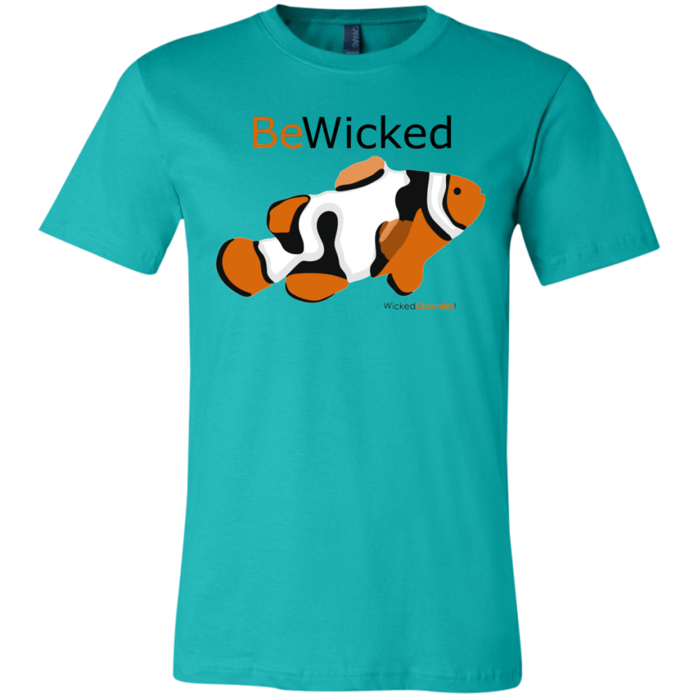 Be Wicked T-Shirt - color: teal