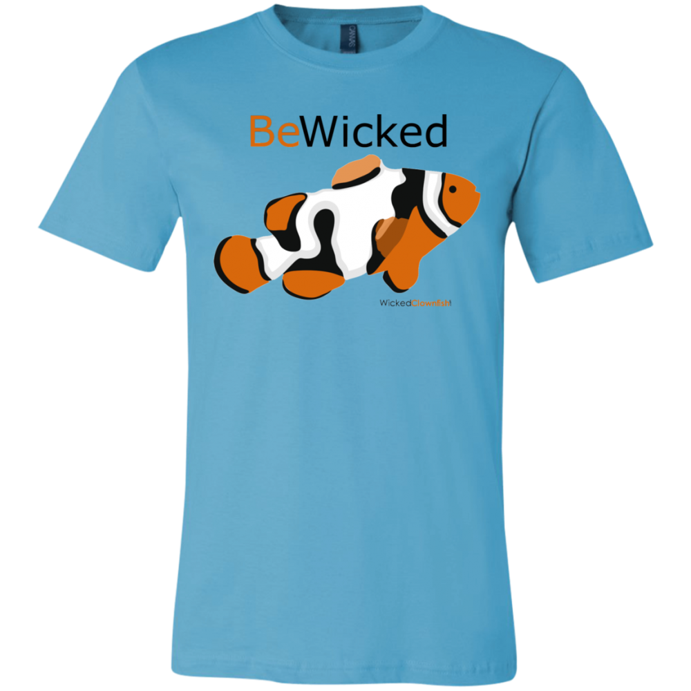 Be Wicked T-Shirt - color: turquoise