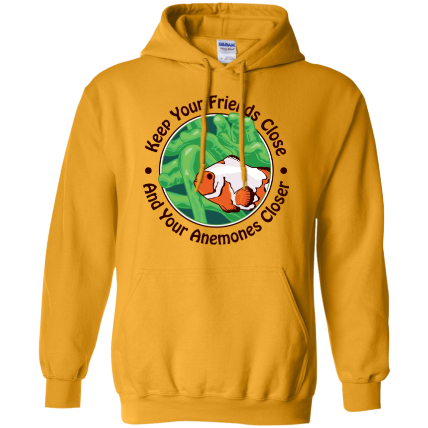 Keep Your Friends Close Hoodie - color: Gold