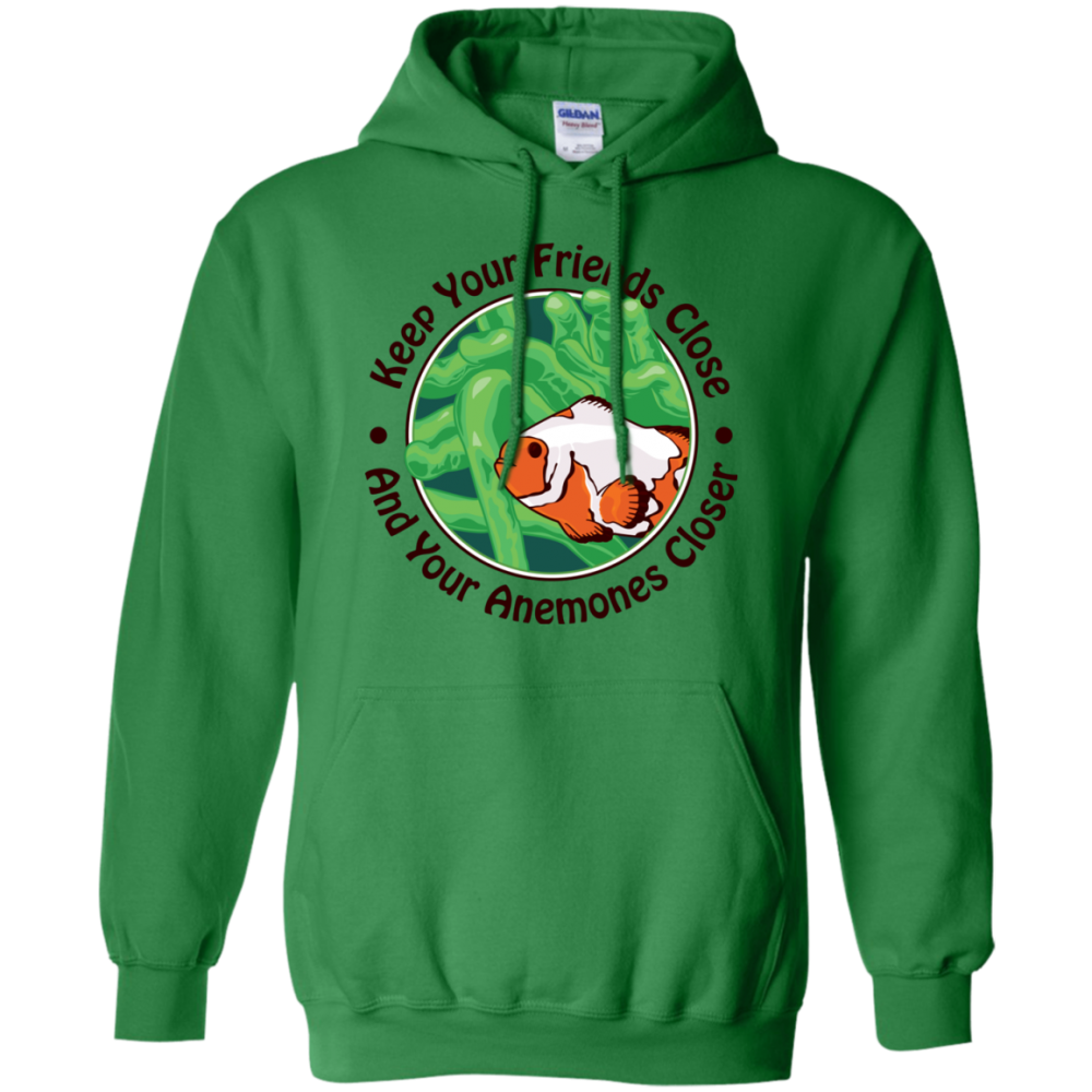 Keep Your Friends Close Hoodie - color: Irish Green