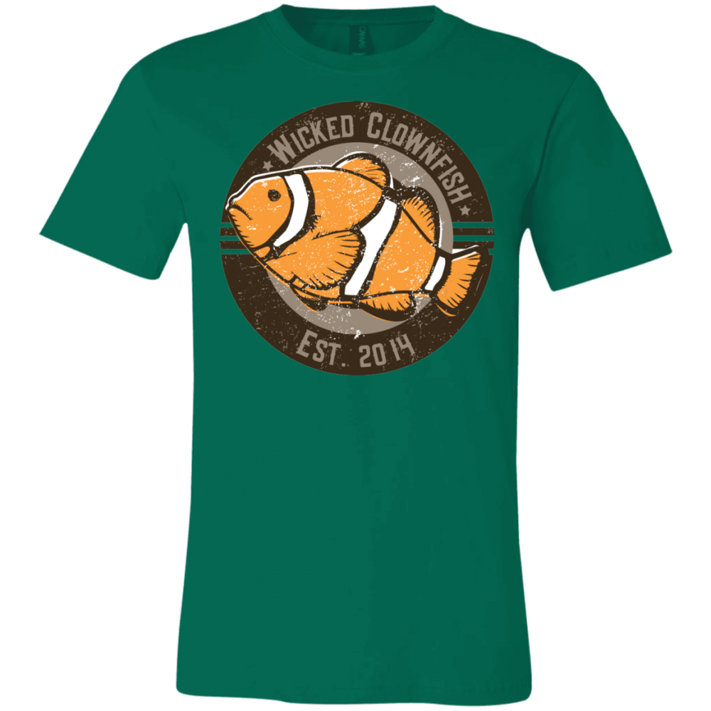 Wicked Clownfish Est. 2014 T-Shirt - color: Kelly