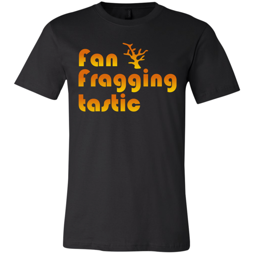 Fan-fragging-tastic T-Shirt - color: Black