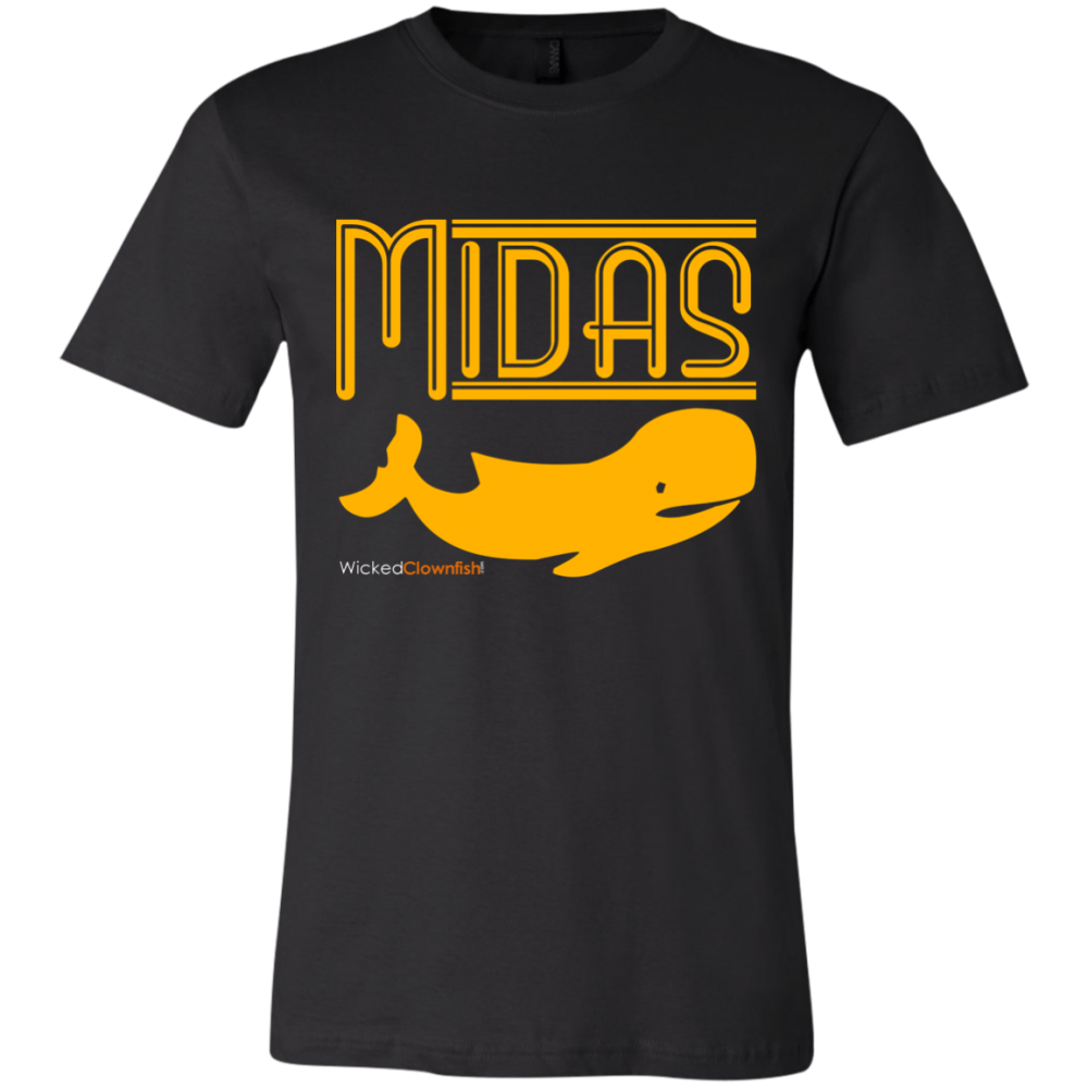 Midas Whale T-Shirt - color: Black