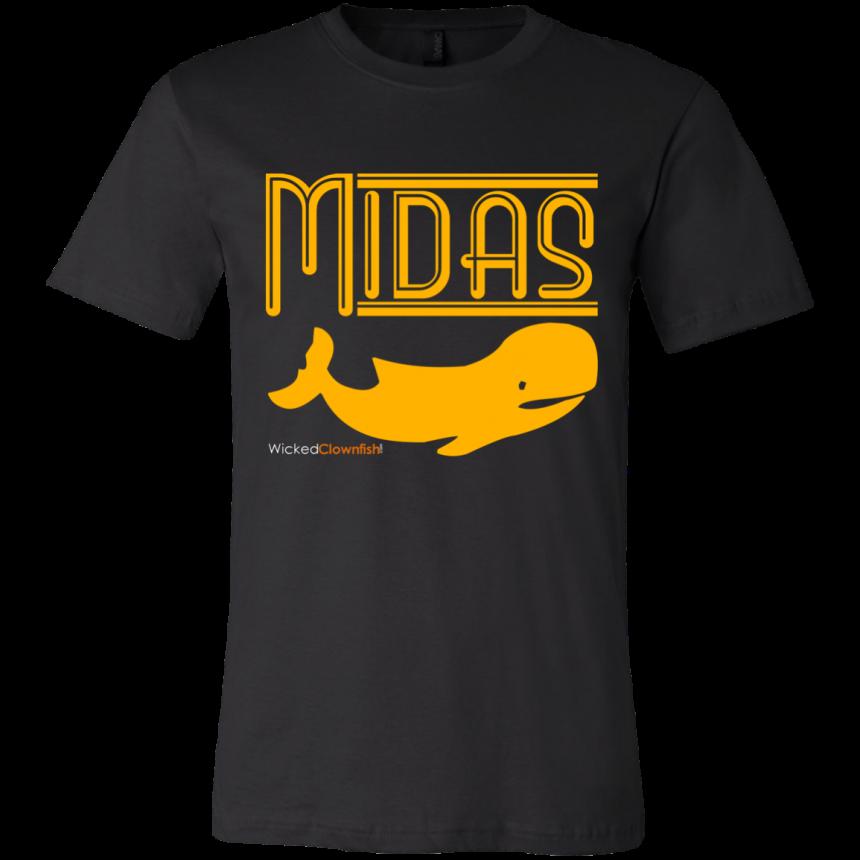 Midas Whale T-Shirt - color: Black
