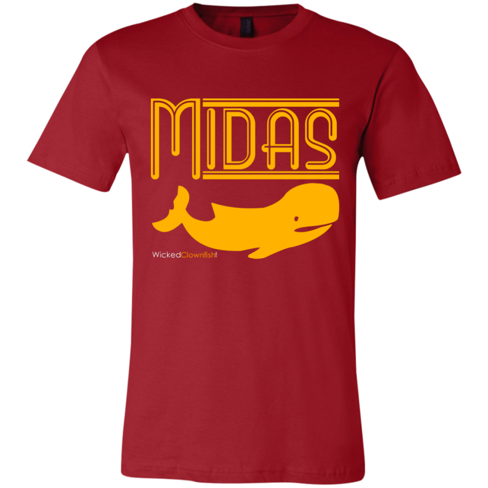 Midas Whale T-Shirt - color: Canvas Red
