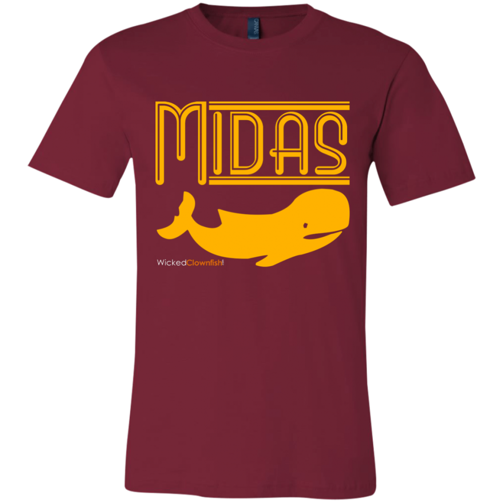 Midas Whale T-Shirt - color: Cardinal