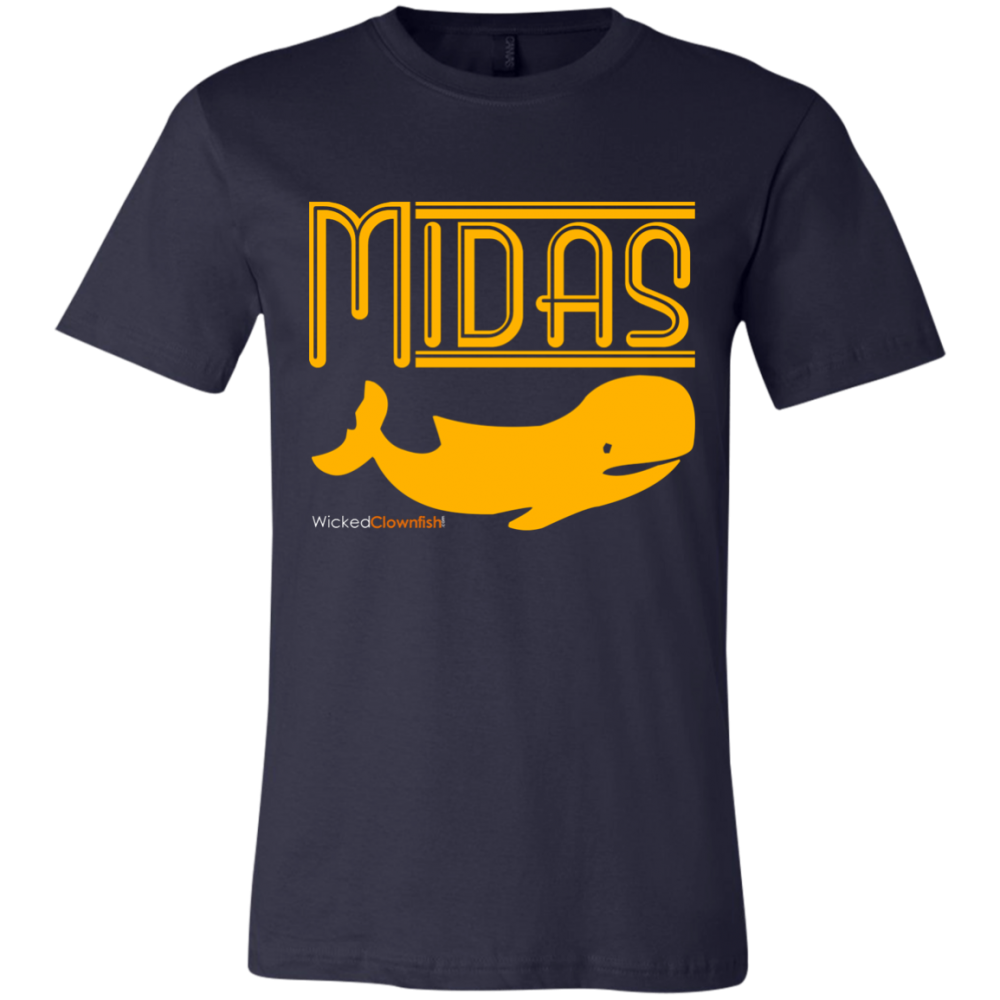 Midas Whale T-Shirt - color: Navy