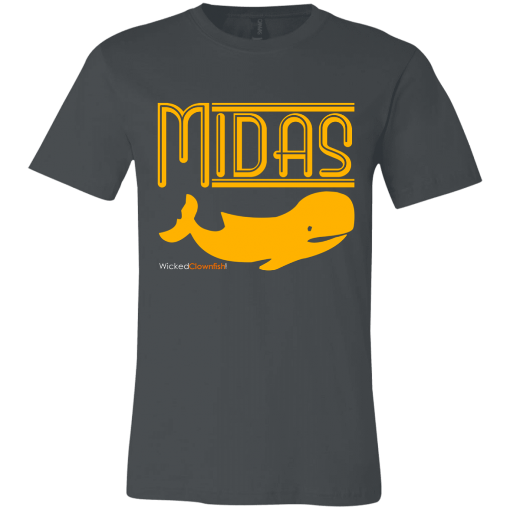 Midas Whale T-Shirt - color: Asphalt