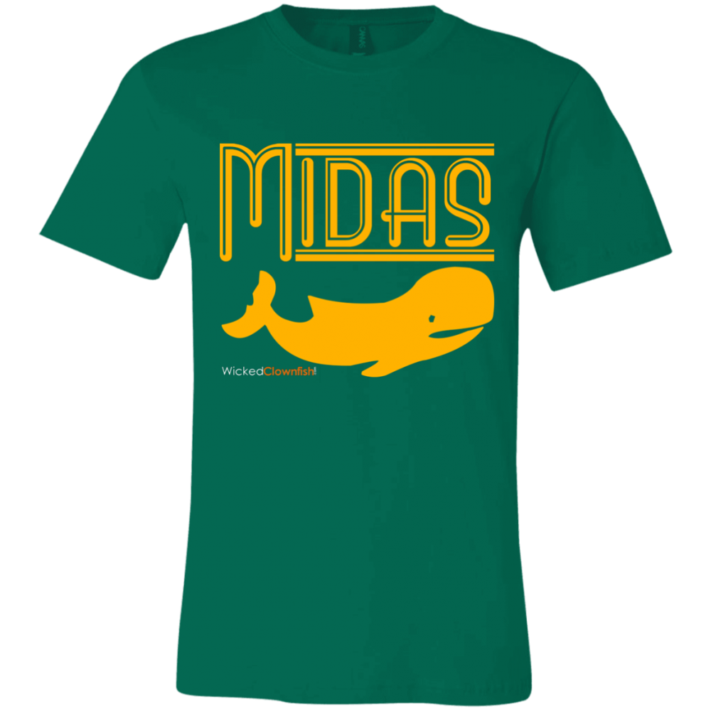 Midas Whale T-Shirt - color: Kelly
