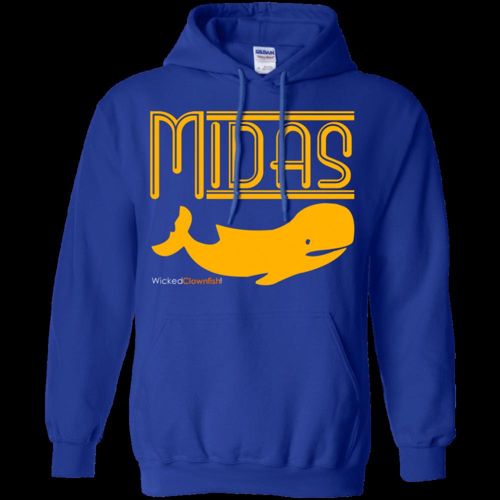 Midas Whale Hoodie - color: Royal